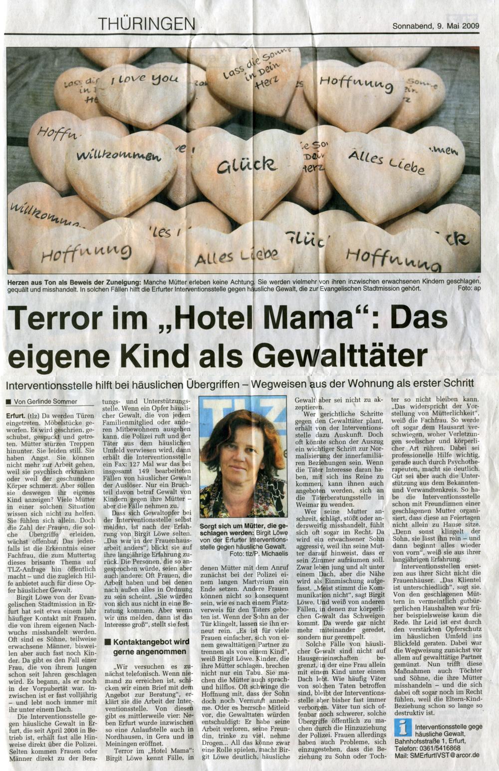 gewalt in der Erfurt
